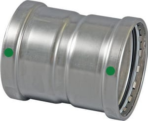 Viega ProPress® XL Press 316L Stainless Steel Extra Large Coupling with Stop V8030