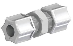 MPT Straight Kynar® Compression Elbow Connector J258KPG