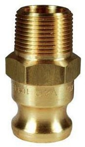 Dixon Valve & Coupling MNPT x Male Brass Adapter DFBR