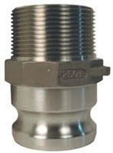 Dixon Valve & Coupling MNPT x Male Stainless Steel Adapter DFSS