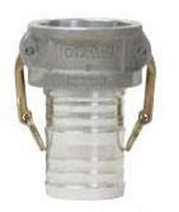 Dixon Valve & Coupling 4 in. Female Coupler x Hose Shank Type C Quick Aluminum Coupling D400CAL