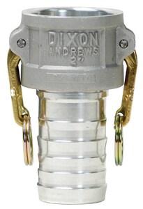 Dixon Valve & Coupling Female Coupler x Hose Shank Type C Quick Aluminum Coupling DCAL