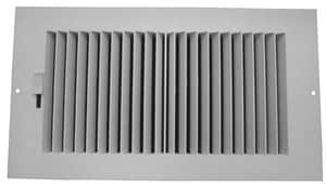 PROSELECT® 14 in. Plastic Ceiling/Sidewall Register in White PSP2WW14