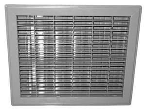 PROSELECT® Steel Floor Register in Brown PSFRDBP
