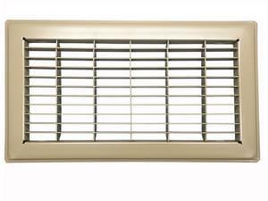 PROSELECT® 4 x 14 in. Brown Floor Return Air Grille PSFRGBP14