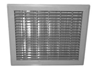 Proselect® 8 in. Steel Floor Register in Brown PSFRDBX