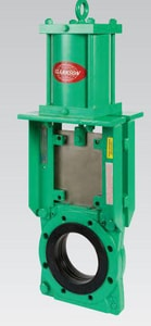 Pentair Valves & Controls 6 in. Knife Gate Valve with Hydraulic Gum Rubber Sleeve PKGD06HCZ