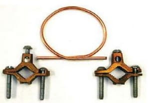 Wal-rich Barn Red Ground Clamp Kit with 24-Wire W2201052