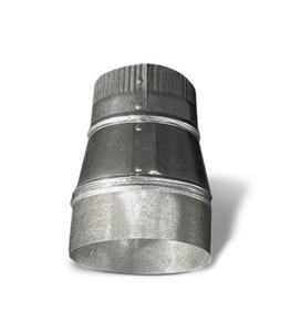 Lukjan Metal Products 5 x 4 in. 26 ga Crimp Tapered Reducer SHMRC26SP