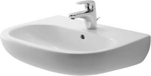 Duravit USA D-Code 3-Hole Pedestal and Wall Mount Washbasin D231055302