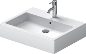 Duravit USA Vero™ 23-3/8 in. 1-Hole Ceramic Above Counter Basin D04526000001