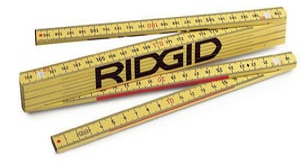 Ridgid Folding Metric Rule R81280