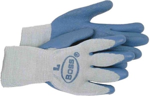 Boss Manufacturing Flex-Tuff Glove Cotton with Latex Palm B1SR8422