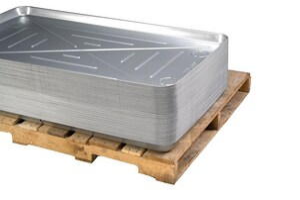 Diversitech 32 x 63 in. Seamless Metal Drain Pan DIV6M3263