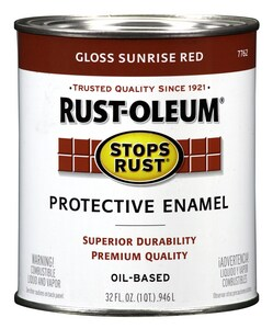 Rust-oleum 32 oz. Sunrise Hydrant Paint R7762502