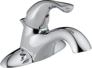 Delta Faucet Classic 1.5 gpm Center Set Single Head Bathroom Faucet D520PPUDST