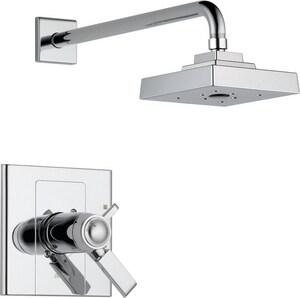 Delta Faucet Arzo® Shower Faucet Trim with Double Lever Handle DT17T286