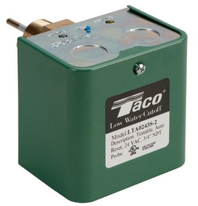 Taco Low Water Cleanout 24 VAC Automatic Reset TLTA0243S2