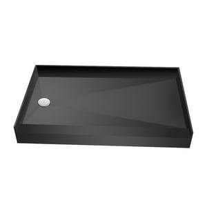Tile Redi USA 60 x 60 in. Single Threshold Left-Hand Drain Shower Base T3460LPVC