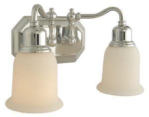Craftmade International Heritage 100W 2-Light Medium E-26 Base Incandescent Bath Light C158132