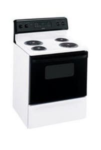 General Electric Appliances Hotpoint® 30 in. 4-Burner Electric Free Standing Range GRB757DP