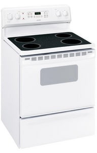 General Electric Appliances Hotpoint® 46-7/8 x 29-7/8 in. 5 cf 4-Burner Freestanding Electric Range GRB787DP