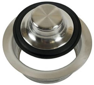 Mountain Plumbing Products Waste Disposer Trim Collar with Stopper Velour MMT204