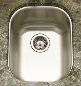 Houzer Club 18 ga Single Bowl Undercounter Sink HCS16071