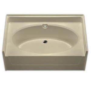 Aquarius Industries 72 x 37 in. Oval Bathtub in White AG7237TO
