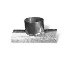 Lukjan Metal Products Galvanized Round Sided Takeoff SHMSTO