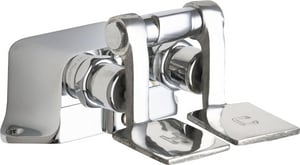 Chicago Faucet Pedal Valve Polished Chrome C625ABCP