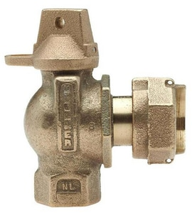 Mueller Company FIP Angle Meter Ball Valve MB24265N