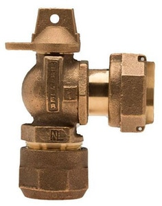 Mueller Company Angle Meter Ball Valve MB24258N