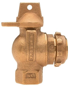 Mueller Company 3/4 in. FIP Ball Angle Valve (Less Nut) MB24278RNEFF