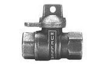 Mueller Company Inline Ball Meter Valve MB20200RNF