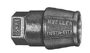Mueller Company Brass FIP x IPS Coupling MH15456NFG
