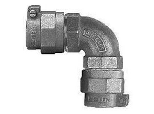 Mueller Company Pack Joint x CTS Brass Straight Coupling MP15526N