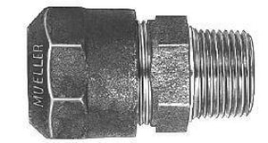 Mueller Company CTS Compression x MIP Brass Straight Coupling MH15428N