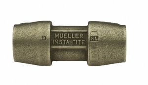 Mueller Industries CTS Brass Coupling MH15406N