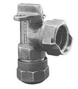 Mueller Industries 1 in. CTS Pack Joint x Meter Compression Angle Valve MP14258NG
