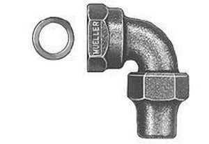 Mueller Industries Female Flare x Flared Brass Straight Coupling MH15068N