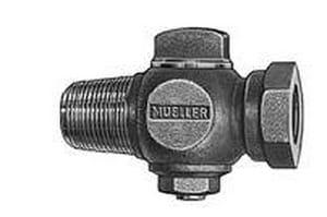 Mueller Industries 2 in. CC x FIPT Corporation Stop MH10045NK