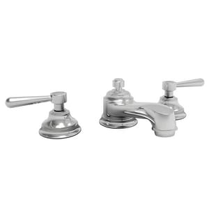 Newport Brass Astaire 3-Hole Widespread Lavatory Faucet with Double Lever Handle N1660