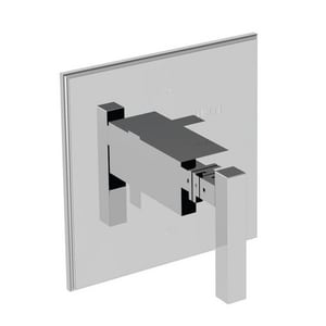 Newport Brass Cube 2 Pressure Balancing Shower Trim Plate with Single Lever Handle N4-2024BP