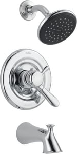 Delta Faucet Lahara® 2 gpm Tub and Shower Faucet Trim with Double Lever Handle D174938