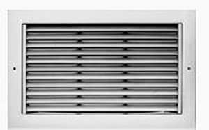 Metalaire 24 x 24 in. Return Grille Lay in T-Bar White MRH622222401