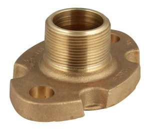 Ford Meter Box 1-1/2 in. Flanged x MIP Brass Coupling FCF38662NL