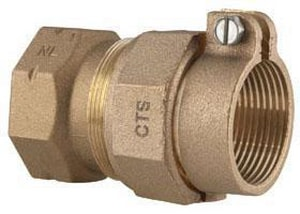 Ford Meter Box FIP x CTS Brass Coupling FC14NL