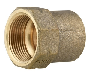 Ford Meter Box Female x FIP Brass Straight Coupling FC01NL