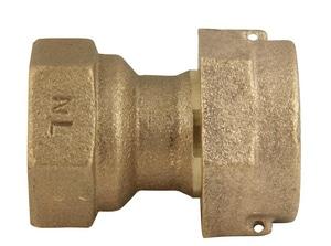 Ford Meter Box Meter Swivel x FIP Brass Coupling FC31NL